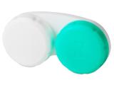 alensa.ie - Contact lenses - Lens Case Green & White