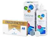 alensa.ie - Contact lenses - Frequency 55 Aspheric (6 lenses)