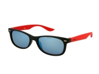 alensa.ie - Contact lenses - Kids sunglasses Alensa Sport Black Red Mirror