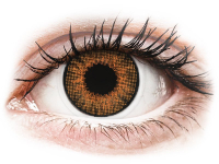 alensa.ie - Contact lenses - Brown Honey contact lenses - natural effect - power - Air Optix