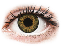alensa.ie - Contact lenses - Brown Pure Hazel contact lenses - natural effect - Air Optix