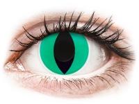 alensa.ie - Contact lenses - Green Anaconda Contact Lenses - ColourVue Crazy
