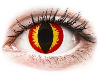 alensa.ie - Contact lenses - Red and Yellow Dragon Eyes Contact Lenses - ColourVue Crazy