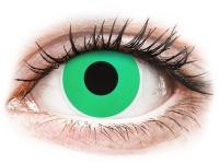 alensa.ie - Contact lenses - Green Emerald Contact Lenses - ColourVue Crazy