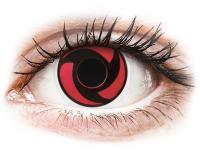 alensa.ie - Contact lenses - Red Mangekyu Contact Lenses - ColourVue Crazy