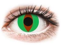 alensa.ie - Contact lenses - Green Raptor Contact Lenses - ColourVue Crazy