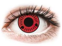 alensa.ie - Contact lenses - Red Sasuke Contact Lenses - ColourVue Crazy
