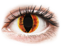 alensa.ie - Contact lenses - Red Saurons Eye Contact Lenses - ColourVue Crazy