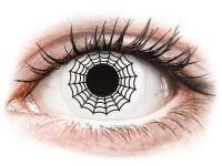 alensa.ie - Contact lenses - Black and White Spider Contact Lenses - ColourVue Crazy
