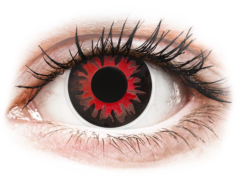 fa75eaf367 ... Red Volturi Contact Lenses - ColourVue Crazy (2 coloured lenses) ...