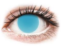 alensa.ie - Contact lenses - Electric Blue Glow Contact Lenses - ColourVue Crazy