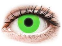 alensa.ie - Contact lenses - Green Glow Contact Lenses - ColourVue Crazy