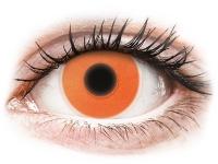 alensa.ie - Contact lenses - Orange Glow Contact Lenses - ColourVue Crazy
