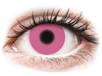 alensa.ie - Contact lenses - Pink Glow Contact Lenses - ColourVue Crazy
