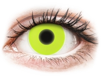 alensa.ie - Contact lenses - Yellow Glow Contact Lenses - ColourVue Crazy