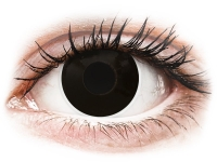 alensa.ie - Contact lenses - Black BlackOut contact lenses - ColourVue Crazy