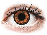alensa.ie - Contact lenses - Orange Twilight contact lenses - ColourVue Crazy
