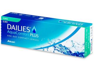 Dailies AquaComfort Plus Toric (30lenses) - Alcon