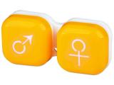 alensa.ie - Contact lenses - Lens Case man & woman - yellow