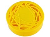 alensa.ie - Contact lenses - Lens Case with mirror - yellow ornament