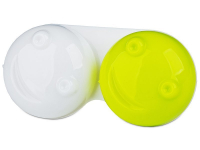 alensa.ie - Contact lenses - Lens Case 3D - yellow