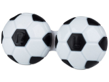 alensa.ie - Contact lenses - Lens Case Football - black