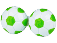 alensa.ie - Contact lenses - Lens Case Football - green