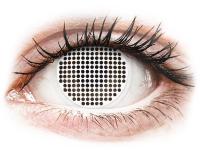 alensa.ie - Contact lenses - ColourVUE Crazy Lens - White Screen - plano