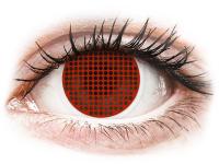 alensa.ie - Contact lenses - ColourVUE Crazy Lens - Red Screen - plano