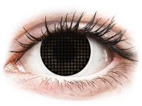 alensa.ie - Contact lenses - ColourVUE Crazy Lens - Black Screen - plano
