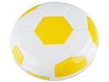 alensa.ie - Contact lenses - Lens Case with mirror Football - yellow