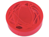 alensa.ie - Contact lenses - Lens Case with mirror - red ornament
