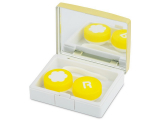 alensa.ie - Contact lenses - Lens Case with mirror Elegant  - gold