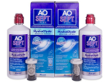 alensa.ie - Contact lenses - AO SEPT PLUS HydraGlyde Solution 2x360 ml