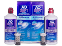 alensa.ie - Contact lenses - AO SEPT PLUS HydraGlyde Solution 2x360ml