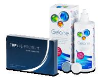 TopVue Premium (6 lenses) + Gelone 360 ml