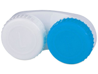 alensa.ie - Contact lenses - Lens Case Blue & White L+R