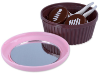 alensa.ie - Contact lenses - Lens Case with mirror Muffin - pink