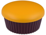 alensa.ie - Contact lenses - Lens Case with mirror Muffin - orange