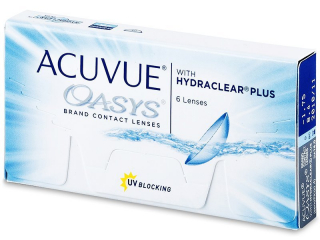 Acuvue Oasys (6 lenses) - Johnson and Johnson