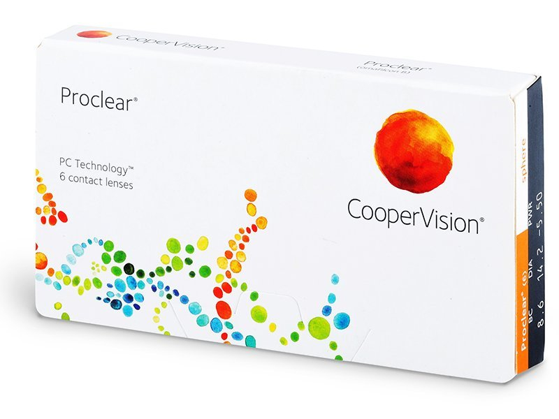 Proclear Sphere (6lenses)