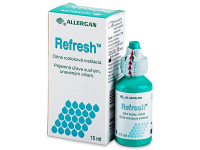 alensa.ie - Contact lenses - Refresh Eye Drops 15 ml
