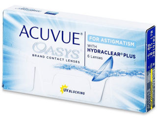 Acuvue Oasys for Astigmatism (6 lenses) - Johnson and Johnson