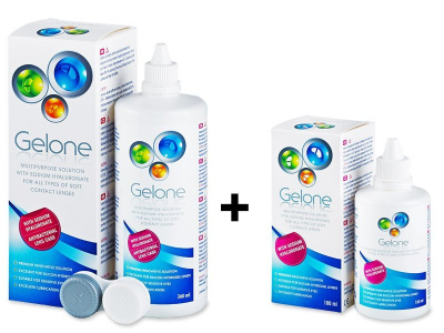 Gelone Solution 360 ml + 100 ml for FREE