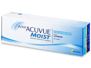 1 Day Acuvue Moist for Astigmatism (30lenses) - Johnson and Johnson